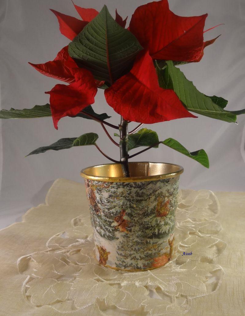 Aisab Dsc01331decu Doniczka święta Boże Narodzenie