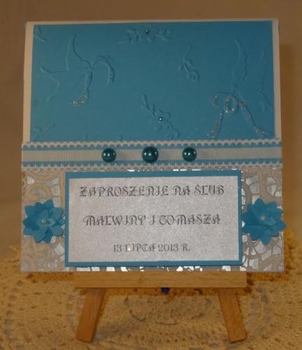 DSC01460zaproszenie na ślub, ręcznie robione
