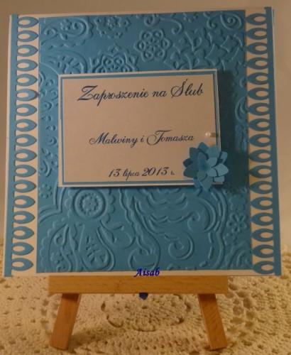 DSC01461zaproszenie na ślub, ręcznie robione