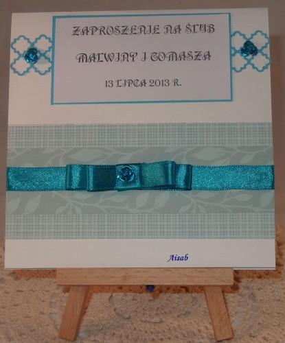 DSC01465zaproszenie na ślub, ręcznie robione