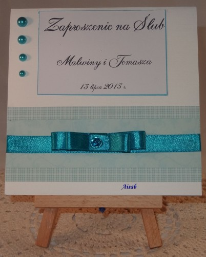 DSC01466zaproszenie na ślub, ręcznie robione