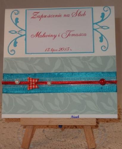 DSC01469zaproszenie na ślub, ręcznie robione