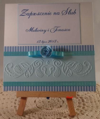 DSC01479zaproszenie na ślub, ręcznie robione