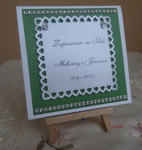 DSC01592zaproszenie na ślub, recznie robione
