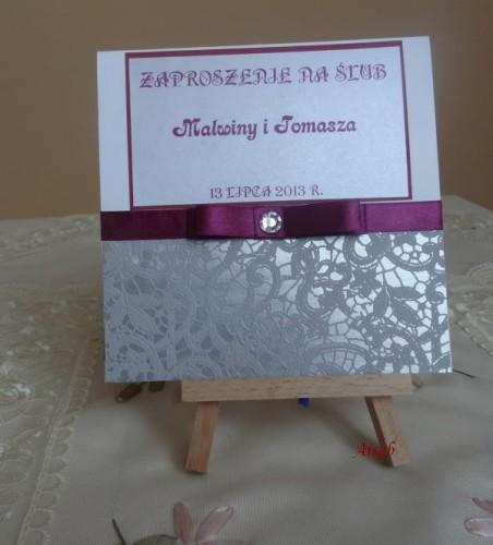 DSC01594zaproszenie na ślub, recznie robione