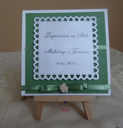 DSC01614zaproszenie na ślub, recznie robione