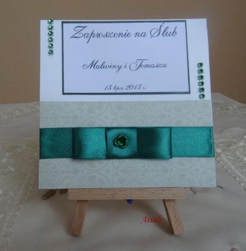 DSC01617zaproszenie na ślub, recznie robione