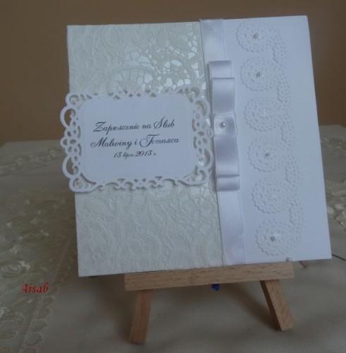 DSC01623zaproszenie na ślub, recznie robione