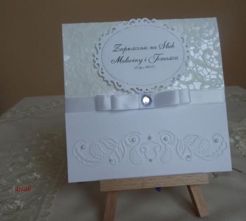 DSC01624zaproszenie na ślub, recznie robione