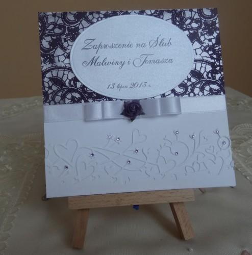 DSC01628zaproszenie na ślub, recznie robione