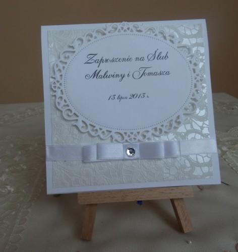 DSC01629zaproszenie na ślub, recznie robione