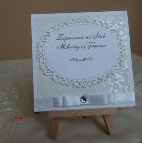 DSC01634zaproszenie na ślub, recznie robione