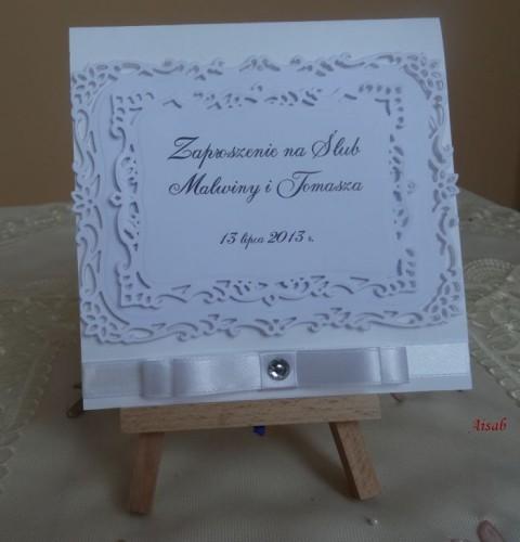 DSC01635zaproszenie na ślub, recznie robione