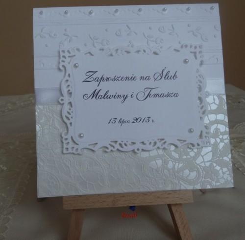 DSC01637zaproszenie na ślub, recznie robione
