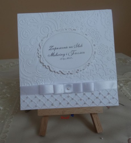 DSC01639zaproszenie na ślub, recznie robione