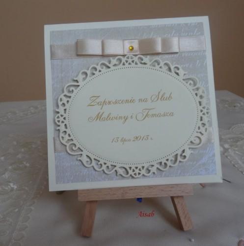 DSC01642zaproszenie na ślub, recznie robione