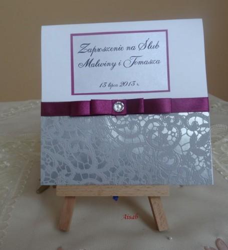 DSC01653zaproszenie na ślub, recznie robione