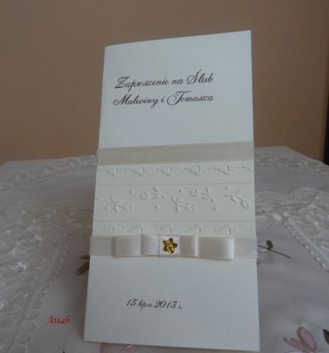 DSC01667zaproszenie na ślub, recznie robione