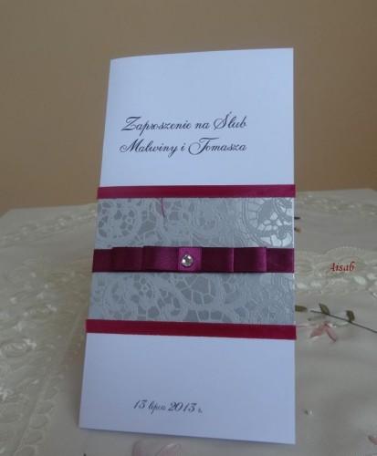DSC01668zaproszenie na ślub, recznie robione