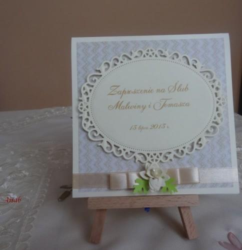 DSC01673zaproszenie na ślub, recznie robione