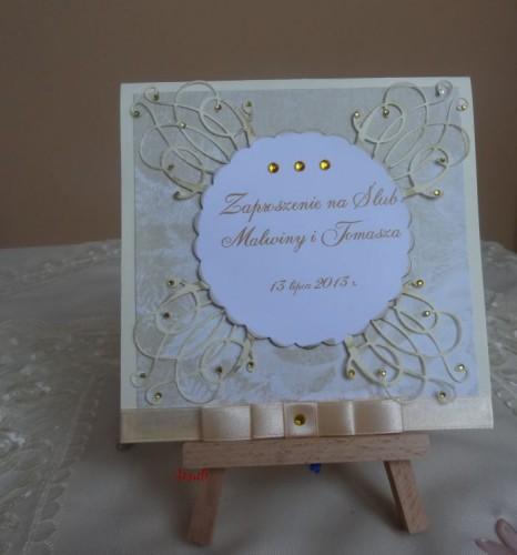 DSC01674zaproszenie na ślub, recznie robione