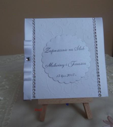 DSC01678zaproszenie na ślub, recznie robione