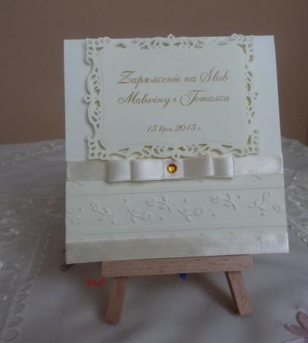 DSC01683zaproszenie na ślub, recznie robione