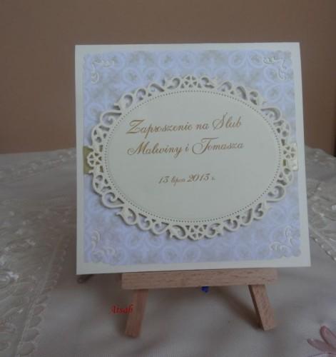 DSC01684zaproszenie na ślub, recznie robione