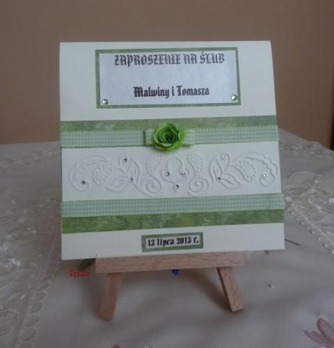 DSC01688zaproszenie na ślub, recznie robione