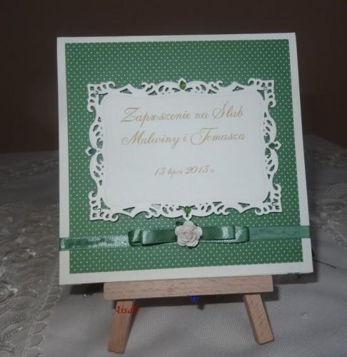 DSC01691zaproszenie na ślub, recznie robione