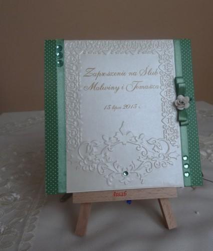 DSC01692zaproszenie na ślub, recznie robione