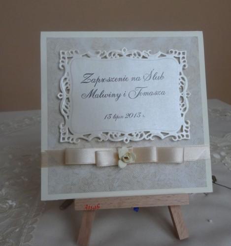 DSC01696zaproszenie na ślub, recznie robione
