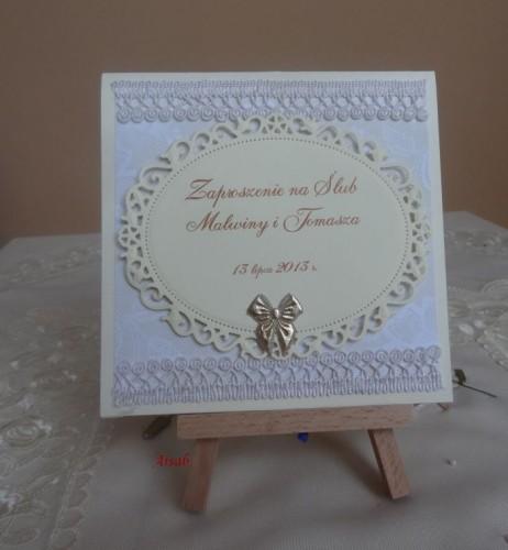 DSC01697zaproszenie na ślub, recznie robione