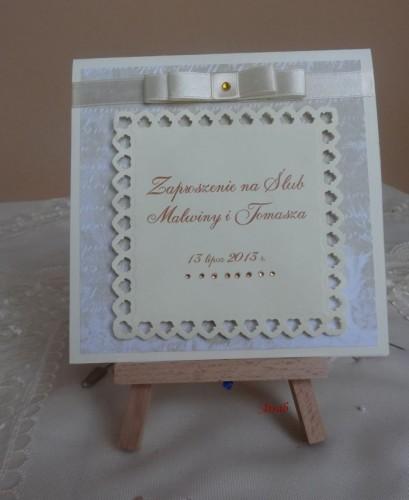 DSC01700zaproszenie na ślub, recznie robione