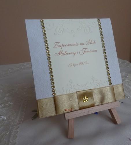 DSC01720zaproszenie na ślub, recznie robione