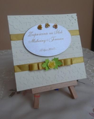 DSC01723zaproszenie na ślub, recznie robione