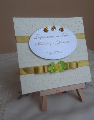 DSC01727zaproszenie na ślub, recznie robione