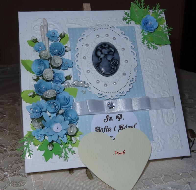 Aisab Dsc01773karteczka Ręcznie Robiona Zaproszenie Dla Babci I