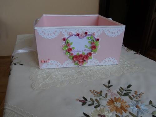 DSC01755 pudełko na koperty, telegramy, zyczenia