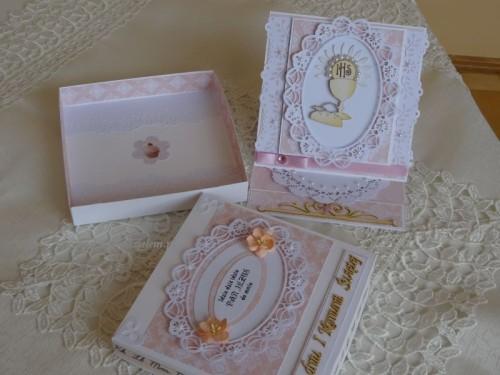 DSC02333Pamiątka - I Komunia święta karteczka w pudełeczku