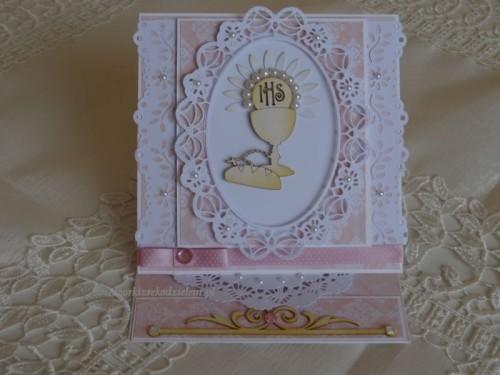 DSC02336Pamiątka - I Komunia święta karteczka w pudełeczku