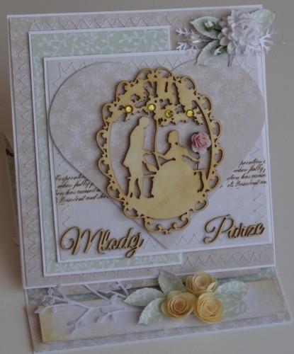 DSC02520Kartka ślubna, życzenia