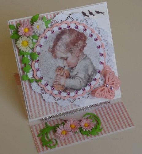 karteczka na narodziny, chrezst, roczek