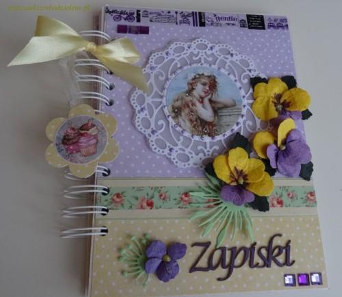DSC02681notatnik, zapiski, sekrettnik, pamiętnik karteczka ręcznie robiona