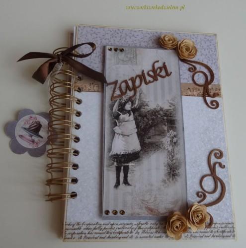 DSC02682notatnik, zapiski, sekrettnik, pamiętnik karteczka ręcznie robiona