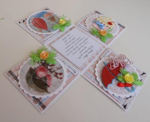 exploding box DSC02814życzenia, karteczka,urodziny,