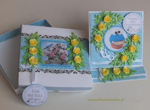 karteczki 1297 Dzień Nauczyciela karteczka ręcznie robiona