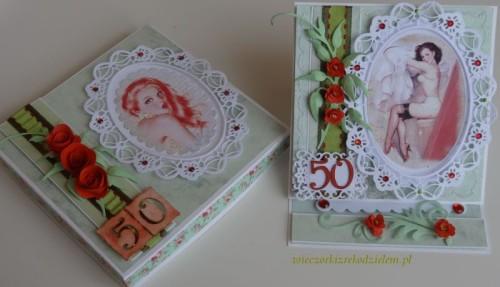 DSC02673karteczka ręcznie robiona 50 urodziny