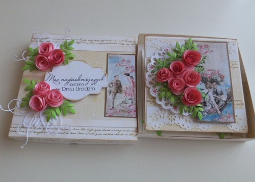 DSCF1518Karteczka , życznia ręcznie robiona, urodziny, imieniny