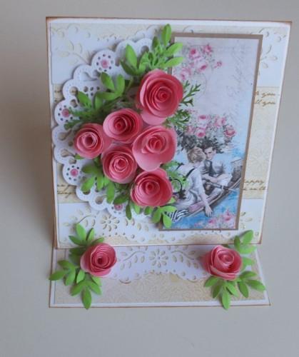DSCF1519Karteczka , życznia ręcznie robiona, urodziny, imieniny